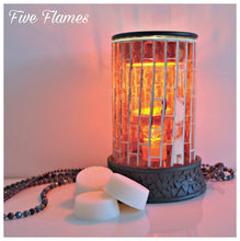 Red Mosaic Electric burner + 3 FREE MELTS