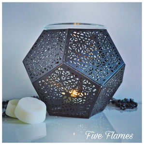 Hexigon Tea Light Burner