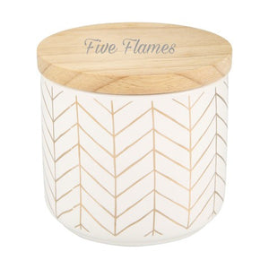 Bamboo lid Canister Jars