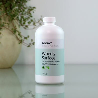 WHEELY SURFACE SANITISER REFILL - 500ML - Push Mobility