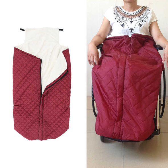 Windproof Wheelchair Blanket aka The Joey's Pouch - Push Mobility