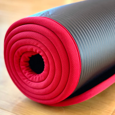10mm thick Gym and Yoga Mat - Push Mobility