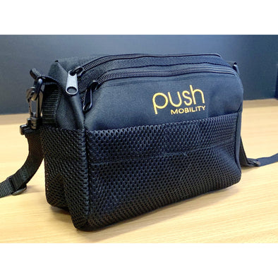 Push Mobility Under Seat Wheelchair Bag—Click On & Removable - Push Mobility