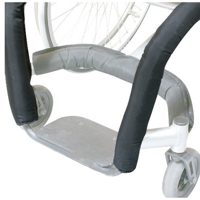 "12"" Front Tube Wheelchair Impact Guard - Push Mobility"