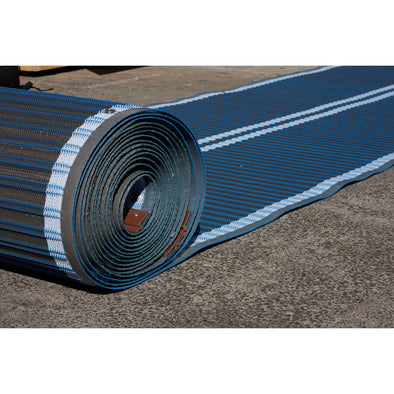Mobi-Mat® Beach/Snow Access Matting - AFX - Blue - Push Mobility