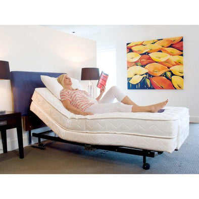 Homecare Deluxe Adjustable Bed - Push Mobility