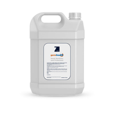 Wheely Hand Sanitiser, 5 litre bottle with Zoono logo