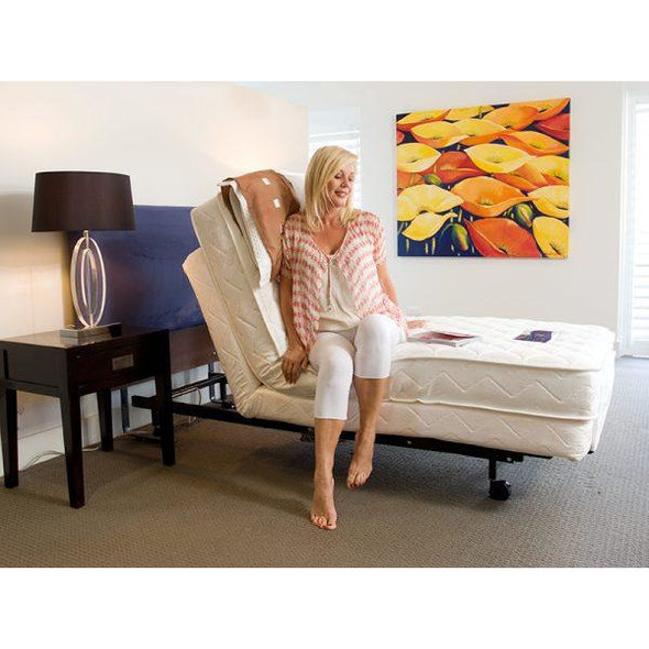 Homecare Hi-Lo Adjustable Bed - Push Mobility