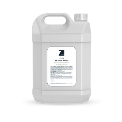 Wheely Surface Sanitiser, 5 litre bottle with Zoono label