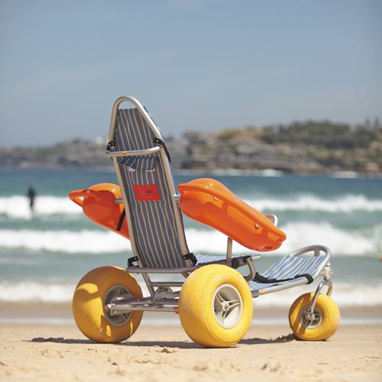 Mobi-Chair® Floating Beach Wheelchair - Push Mobility