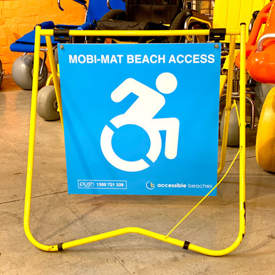 Beach Access Signage - Push Mobility