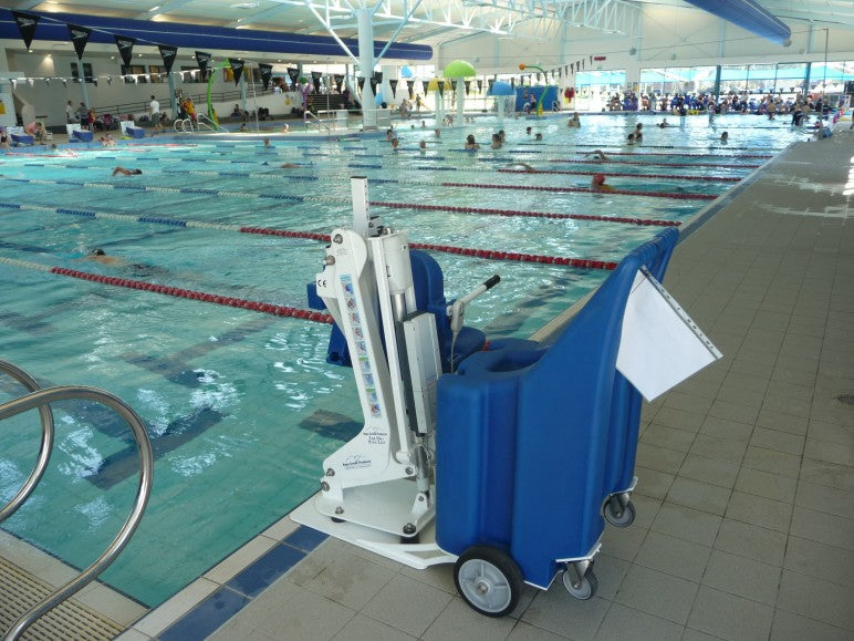 Portable Pro Pool Lift Push Mobility