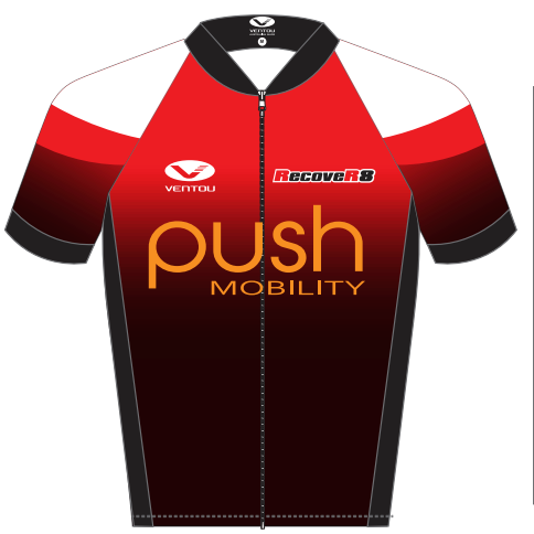Push Mobility Cycling Jersey - Push Mobility