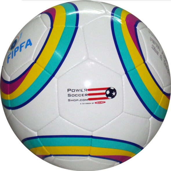 2020 Multi Colour Power Soccer Ball - Push Mobility