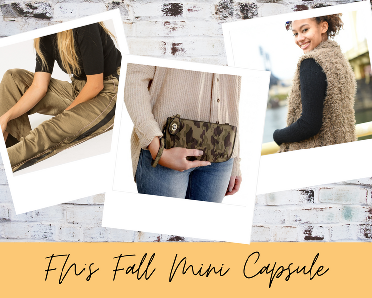 Fall Essentials Capsule Wardrobe Checklist