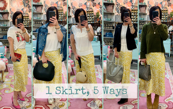One Skirt, Five Ways!