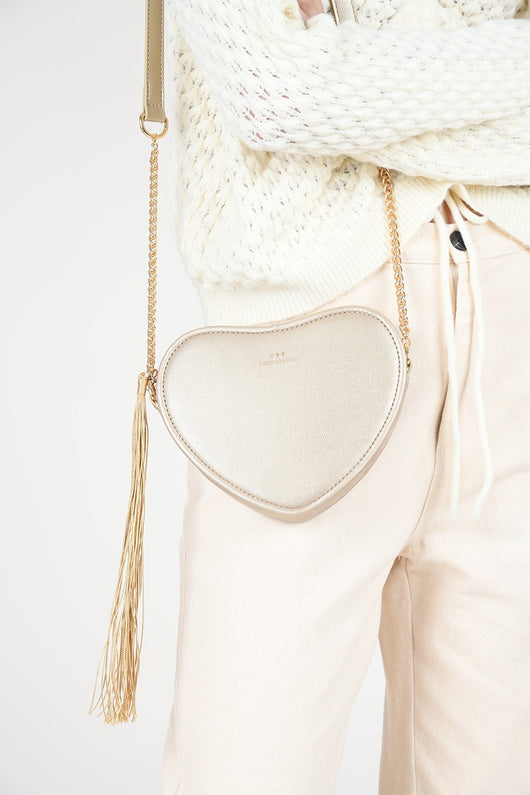 Heart Shaped Crossbody Bag