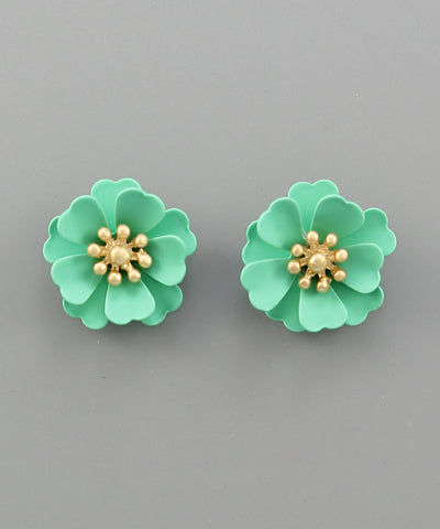 Miniature Blossom Stud Earrings