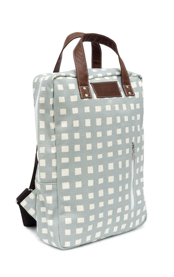 Canvas Zippered Laptop Backpack