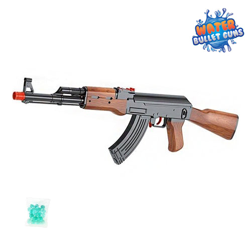 AK47 Water Bullet Gun With Magazine Loader, No Top Loading Unit or Sight