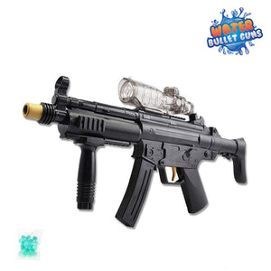 MP5 Water Bullet Gun, Electric Battery Powered, Full Auto, Water Bullets Included