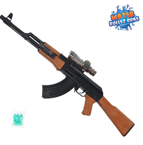 AK47 Classic Design Water Bullet Gun, Electric Water Gun, Full Auto Shots