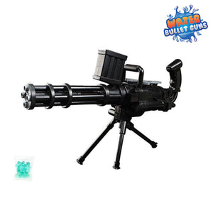 Gatling Water Bullet Gun, Powerful Long Distance Water Gun