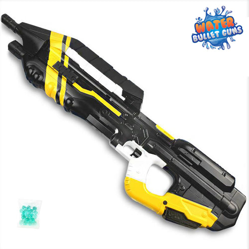 MA5C Water Bullet Gun with Light Bulb Sight Add-On, Rechargeable Electric Water Gun