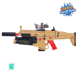 Tactical Military Electric Water Bullet Gun Rifle