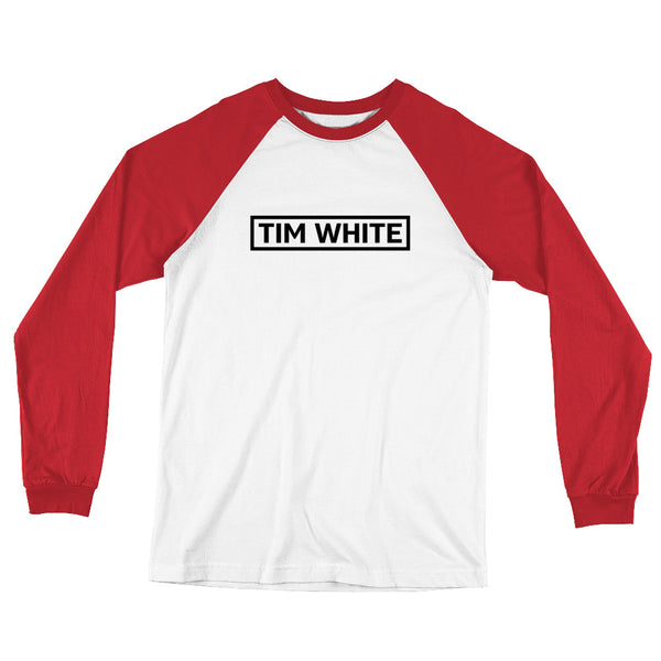 Tim White Long Sleeve Baseball T-Shirt