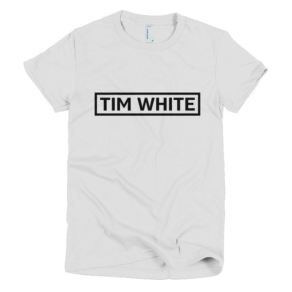 TIm White 91 - Short sleeve women's t-shirt