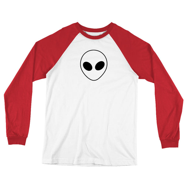 Long Sleeve Alien Baseball T-Shirt