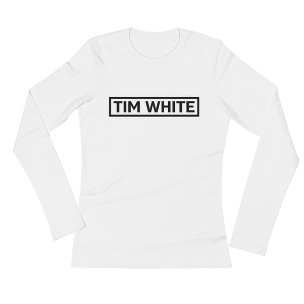 Ladies' Long Sleeve Tim White 91 T-Shirt