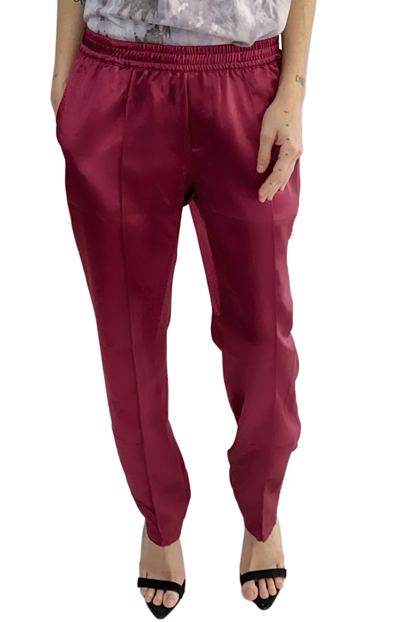 Boxing Pant in Satin