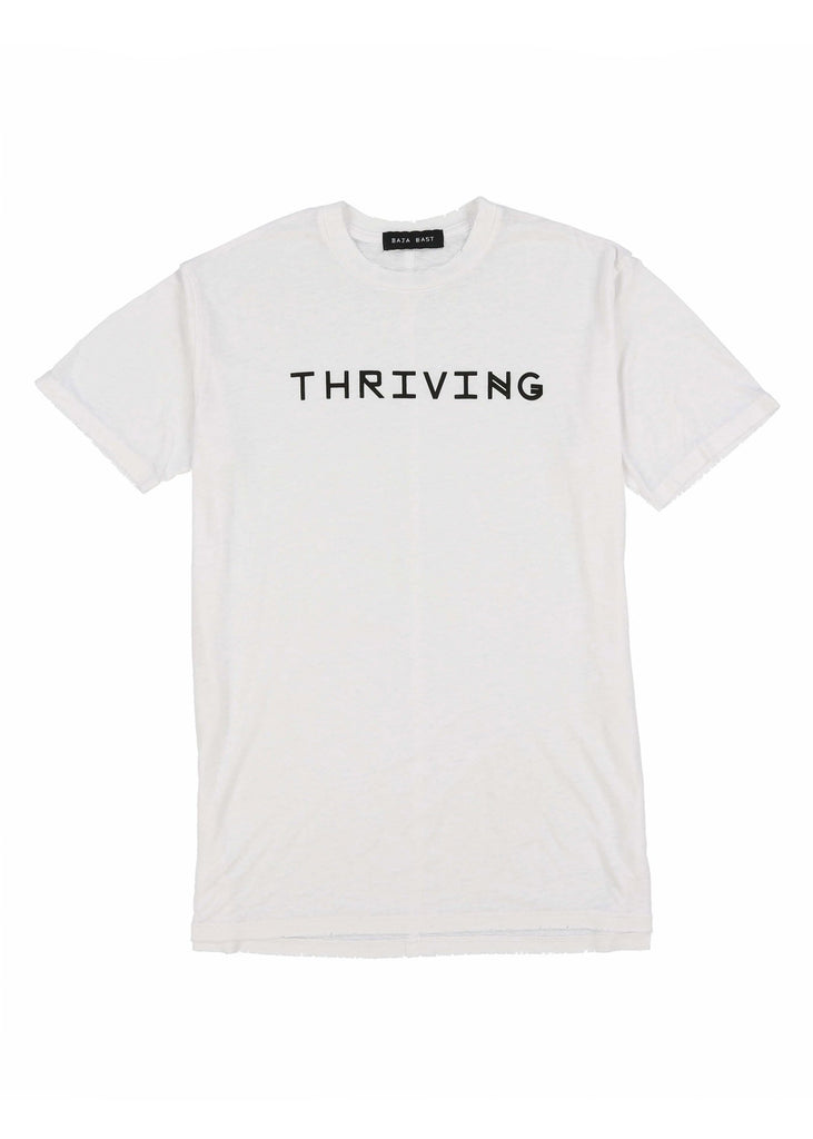 """Thriving"" Burnout Tee"