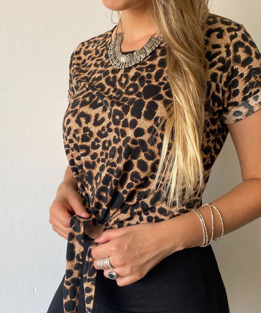 ~ Polera Dominga ANIMAL PRINT ~