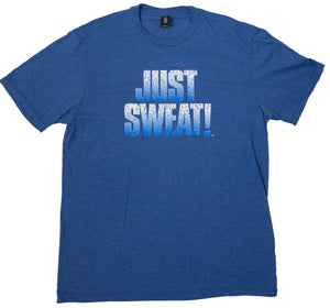 Men's Tri-Crew Tee (Royal Blue Frost)
