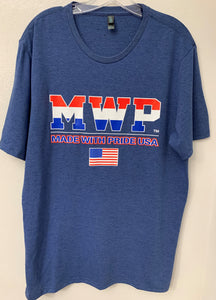 MEN'S MWP (MADE WITH PRIDE USA) TRI-BLEND T-SHIRT