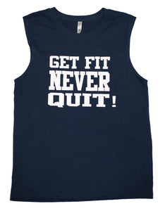 Mens Muscle Tank (Midnight Navy)