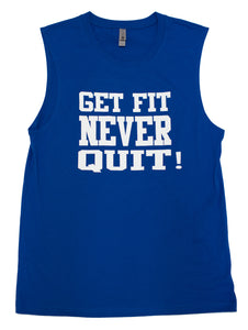 Mens Muscle Tank (Royal Blue)