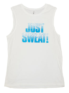 Mens Muscle Tank (White)