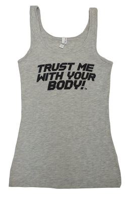 Ladies Jersey Tank Top (Light Heather Gray)