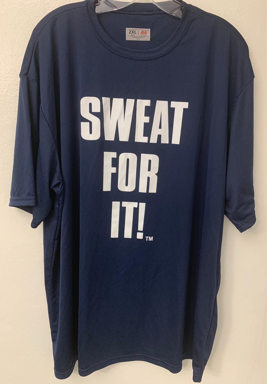 "MEN'S ""SWEAT FOR IT"" Cooling Performance Crew Tee"
