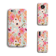 Funda Slim Mate Flores Colores
