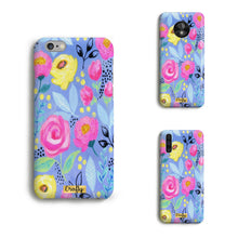 Funda Slim Mate Flores Colores I