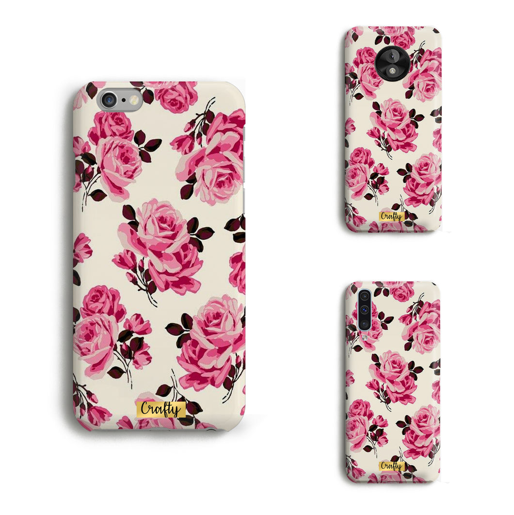 Funda Slim Mate Rosas I