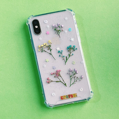 Funda Flores Colores y Brillo