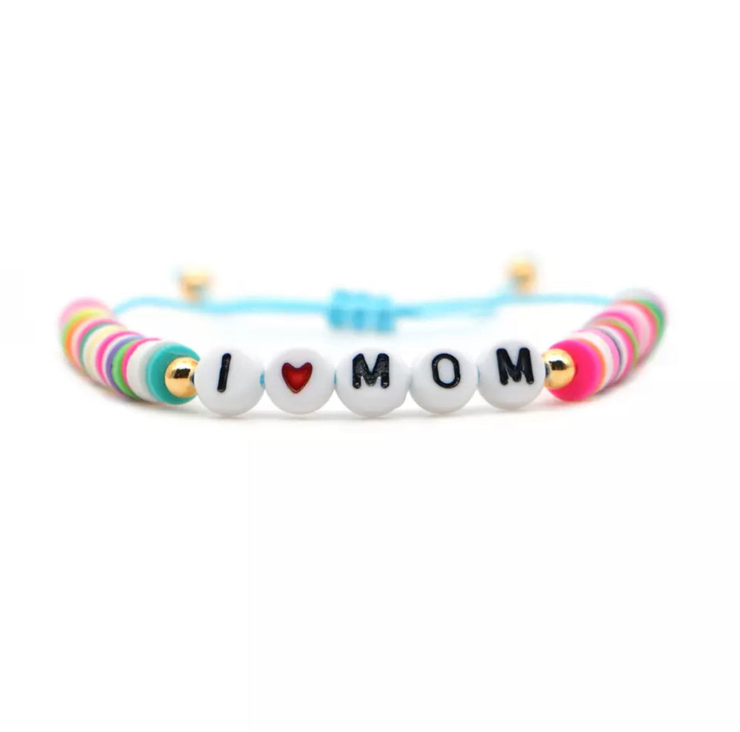 Pulsera I Love Mom