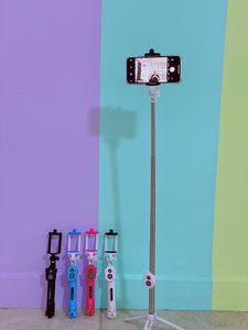 Selfie Stick Universal Extendible Android/IOS con Bluetooth