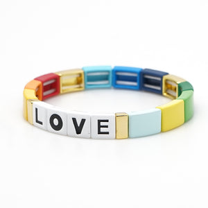 Pulsera Love Rainbow
